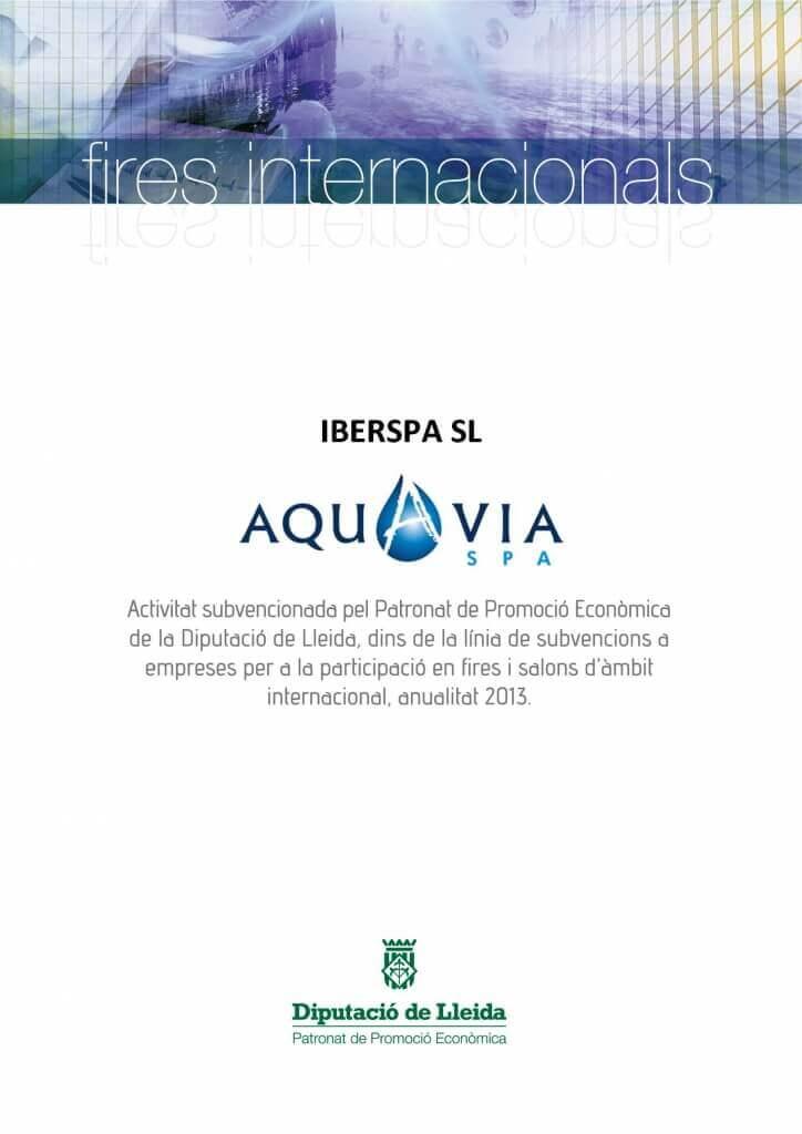Aquavia Spa en en Salón Internacional de la Piscina 2013