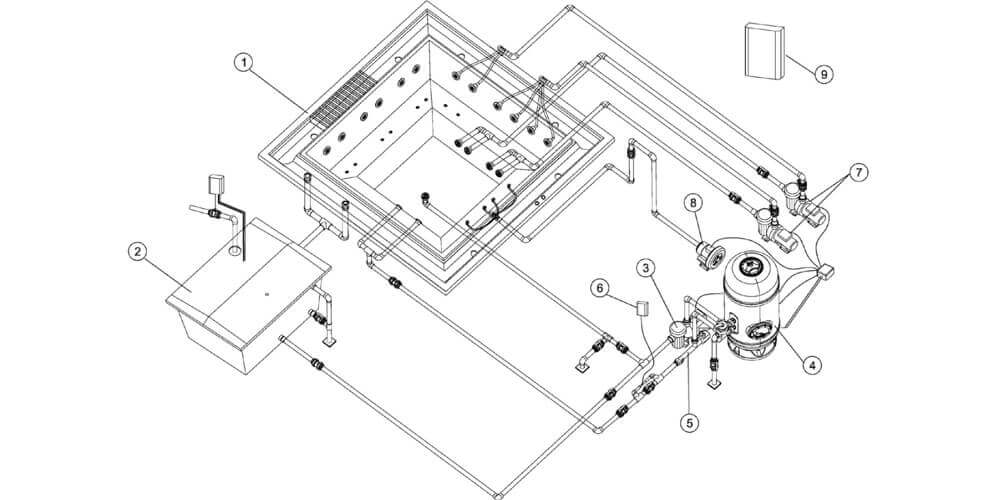 Jacuzzi Piping Diagram