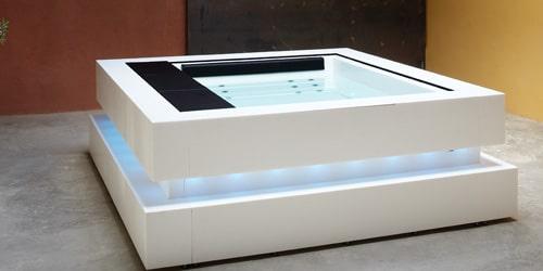 Mueble de diseño Jacuzzi Cube