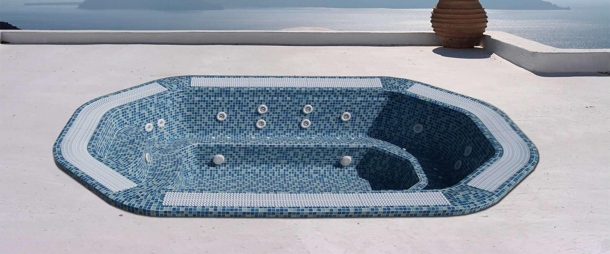 Jacuzzi Hawai mosaico