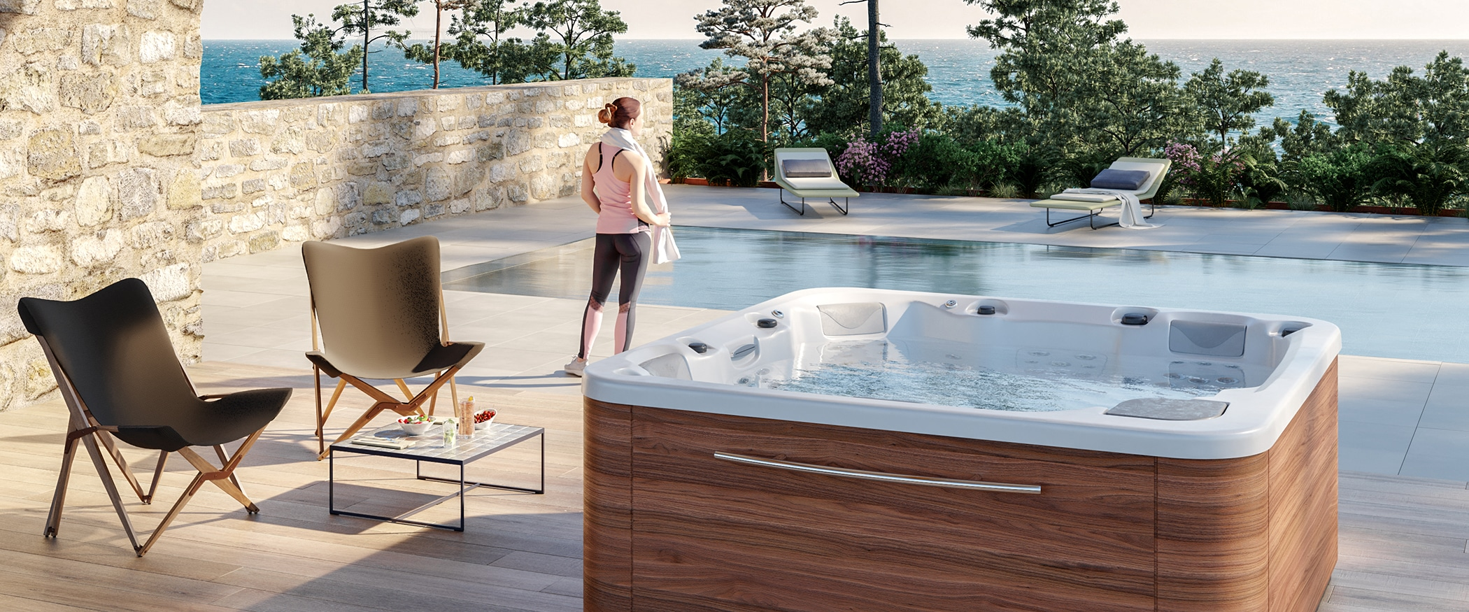 Spa jacuzzi Essence 5 plazas Aquavia Spa